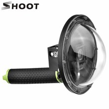 SHOOT Portable Diving Dome Port for Gopro 4 3+ Action Camera with Floating Bobber Go pro Accesories