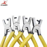 RDEER Punch Pliers 6 150mm Multi Tool Crimping Pliers Duty Leather Hole Punch Hand Pliers Belt