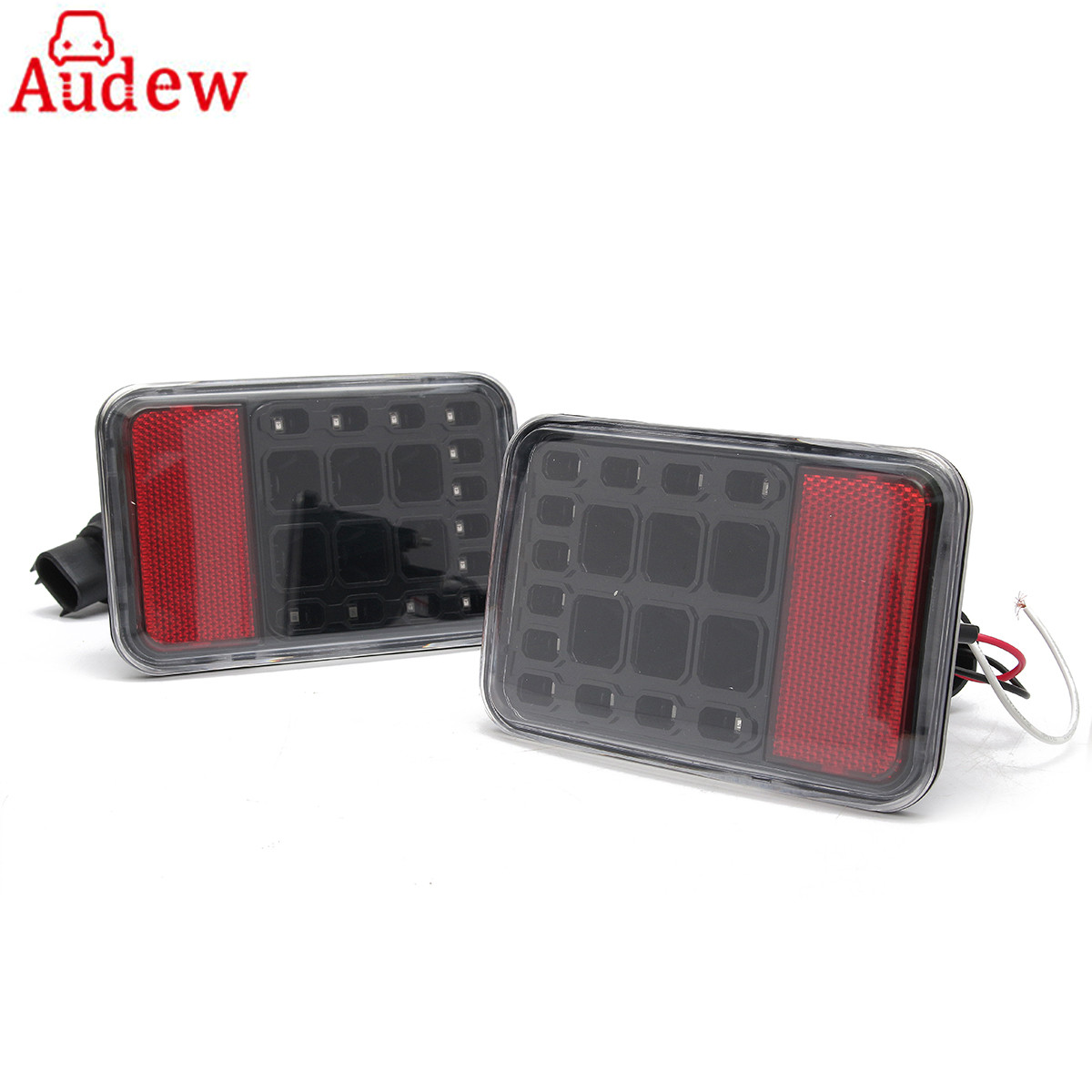 Pair Car LED Reverse Backup Lamp Rear Bumper Tail Light For Jeep/Wrangler/JK 2007-2016 4x4 4WD 12V LED Running Lights 2pcs brand new high quality superb error free 5050 smd 360 degrees led backup reverse light bulbs t15 for jeep grand cherokee