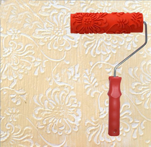 Novelty home improvement patterned roller for wall decoration paint