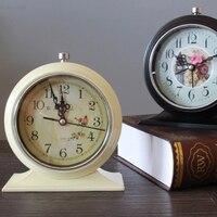 Luminous Europe Retro Clock Alarm Creative Bell Electronic Desk Clocks Bedside Vibrating Alarm Clock Kids Saati Timer 70A0061
