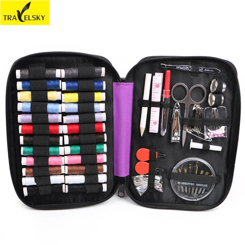 Travel Accessories Travel Multi function Sewing Box Portable Household Sewing Kit Home Cross Stitch Sewing Kit
