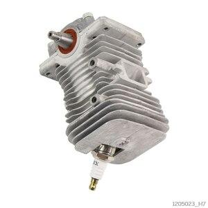 Image 2 - 38mm moteur moteur cylindre Piston vilebrequin Pan assemblage jardin outils électriques pièces pour MS170 MS180 018 tronçonneuse