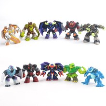 50pcs 5 10cm Gormiti Anime Action figure Dolls Mixed Style Atomic gomitiere Volcano soldiers the lords of nature some repeat