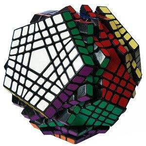 Image 3 - Shengshou Teraminx Cube 7x7 Wumofang 7x7x7 Magic Cube Professional Dodecahedron Cube Twist Puzzle Educational Toys
