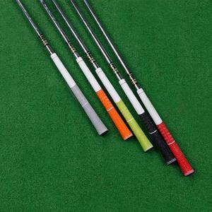 Image 5 - 골프 아이언 그립 표준 미끄럼 방지 골프 클럽 그립 화이트/블랙 10 개/몫 무료 배송