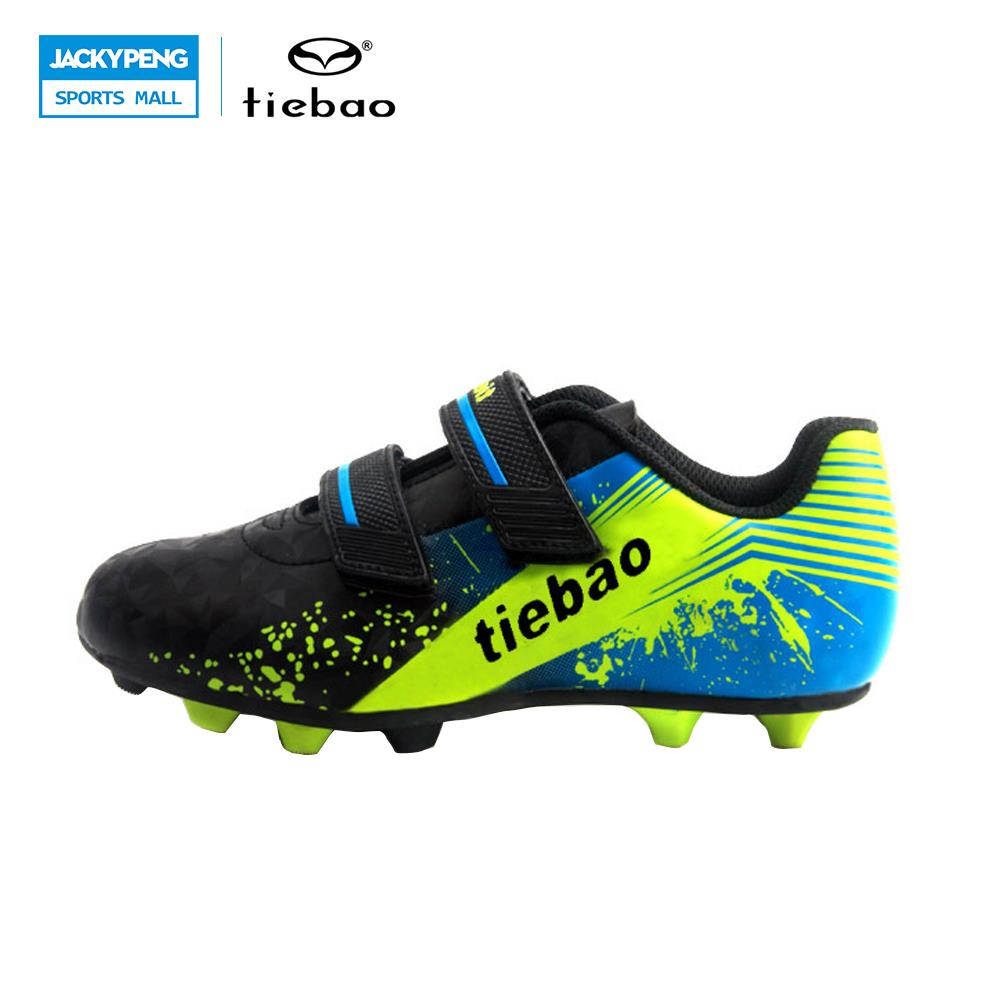TIEBAO Football Shoes Outdoor Soccer Shoe Football Boots Soccer Cleats Football Shoe Kid Football Boots Botas De Futbol Fussball(China)