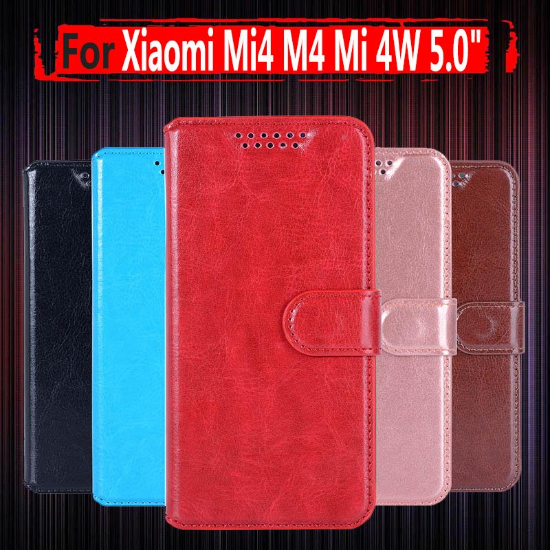 Case-Cover Wallet-Case Xiaomi Mi4w Luxury For Flip Stand Mi 4w 4-M4m