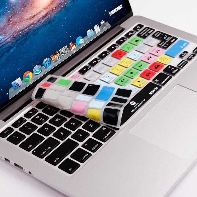 Keyboard Skin Cover F A1278 Ableton Live Logic Pro X Avid Pro Tools Shortcut For iMac Macbook Pro Air 13 15 KC_A1278 Avid Media