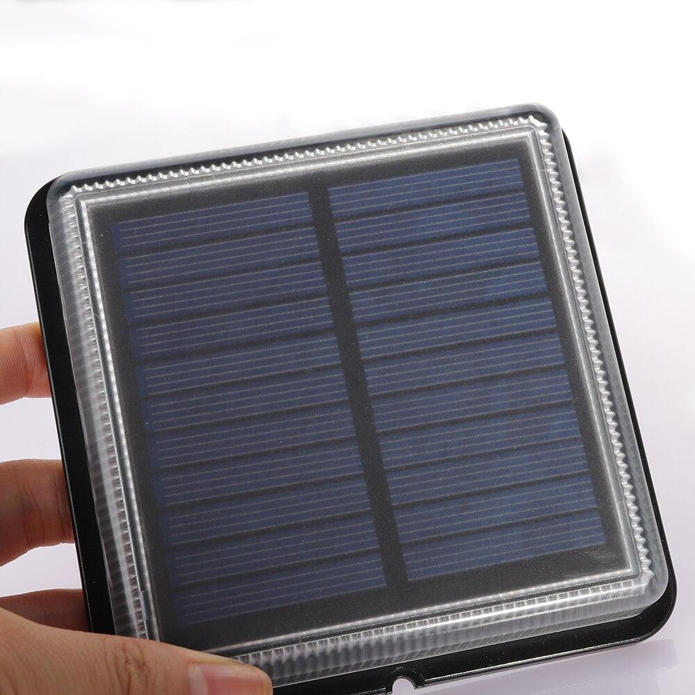 8 pces led solar lâmpada ao ar