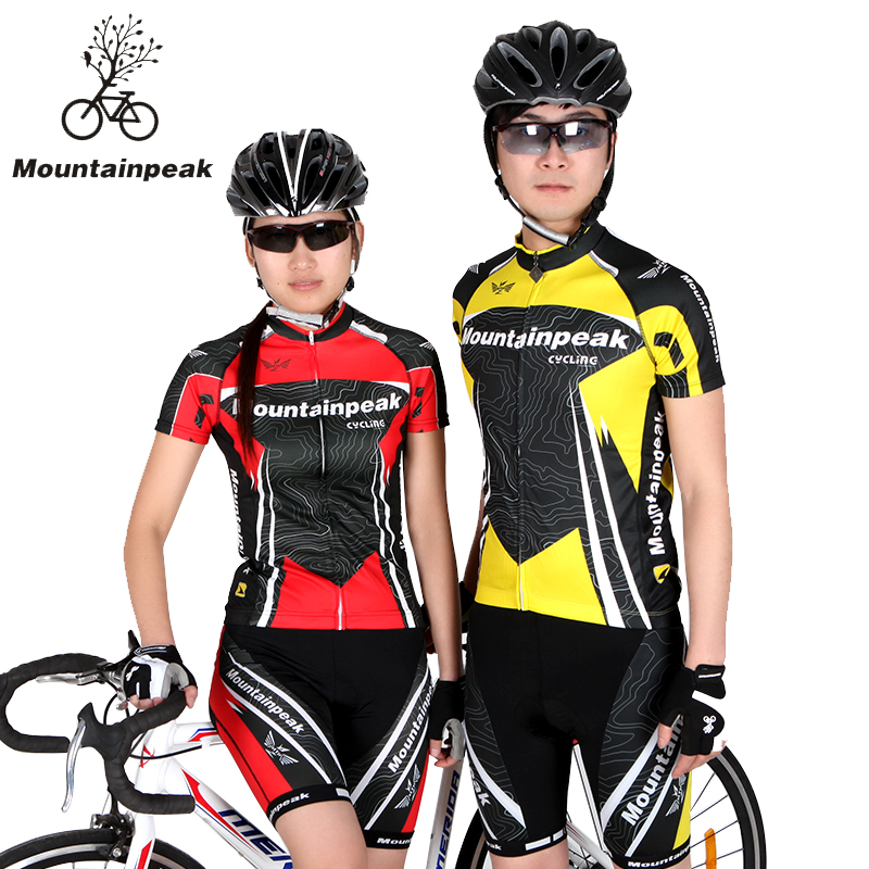 Mountainpeak Cycling Wear Short Sleeved Suit Jacket Shorts Riding Bicycle and Summer Equipment Cycling Jersey arsuxeo breathable sports cycling riding shorts riding pants underwear shorts