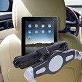 360 Grados de Rotación Universal Asiento Trasero Del Coche Reposacabezas Soporte ajustable de Soporte de La Tableta Accesorios Del Coche Para la Tableta del GPS DVD