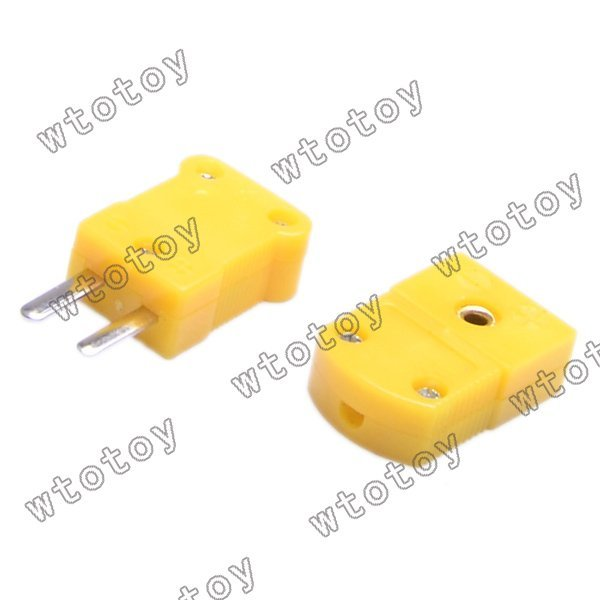 10 pair K type thermocouple connector ,plug 12958