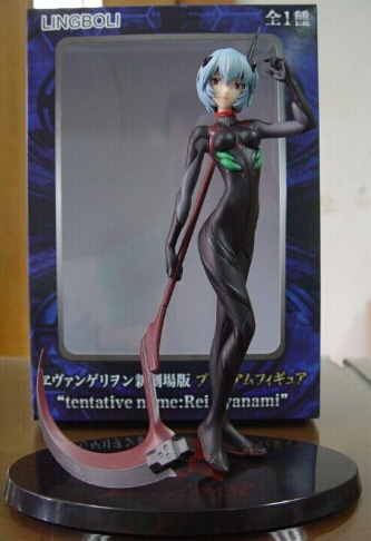 Manufacturer 5pcs Neon Genesis Evangelion LingBoLi action pvc figure toy tall 27cm in box via EMS/DHL. dhl ems 5 lots new in box om ron plc g3na 225b 5 24vdc e1