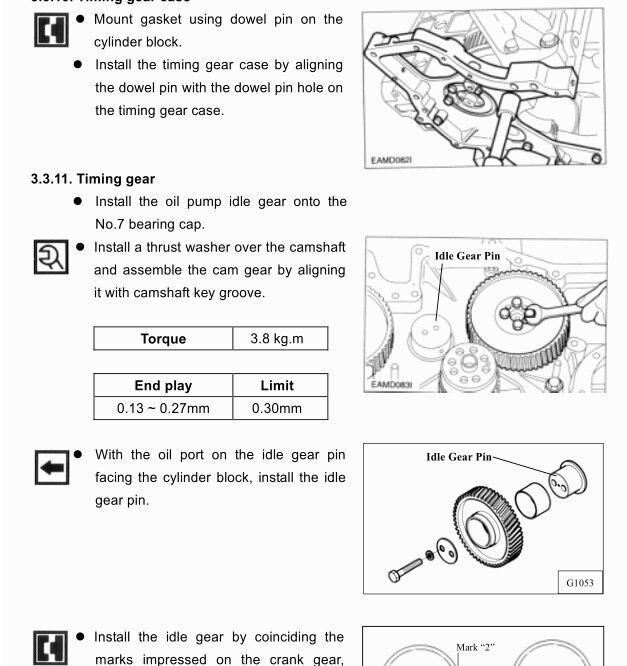 New Daios Doosan sel Engines Service Manual and Maintenance manual, on