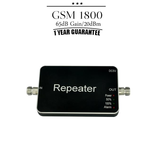 Um Ano de Garantia GSM 4G LTE 1800 MHz Banda 3 Amplificador Celular DCS 1800 Signal Booster 65dB Ganho Móvel Amplificador inteligente