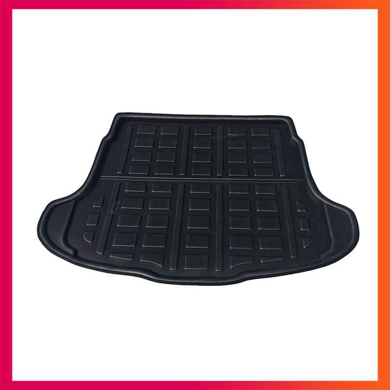 For Honda CR-V 2007-2011  Liner Tray Car Rear Trunk Cargo Mat Floor Sheet Carpet Mud Protective Pad