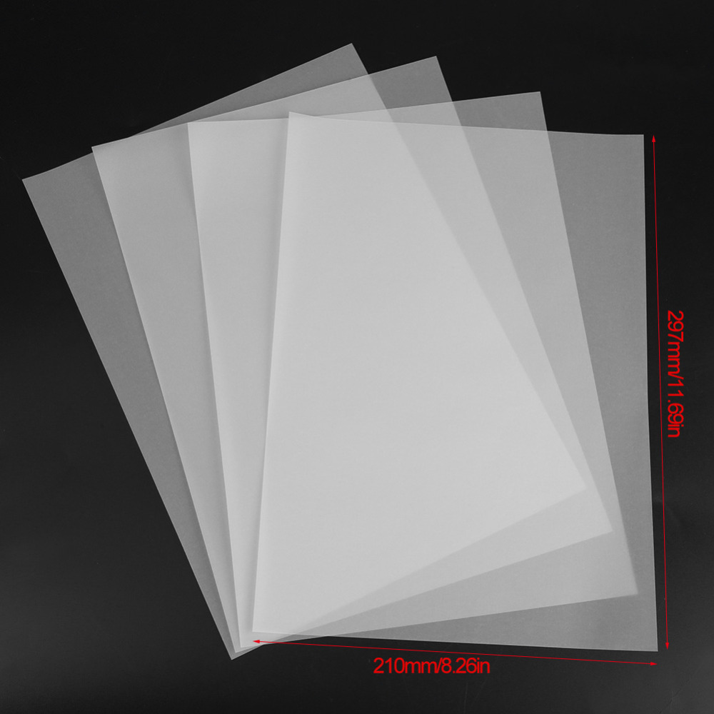 100pcs A4 Translucent Tracing Paper Copy Transfer Printing Drawing Paper Sulfuric Acid Paper For Engineering Drawing / Printing(China)