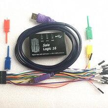 Осциллограф USB Логический Анализатор 100 М макс частота дискретизации, 16 Канала, образцы 10B, MCU, ARM, FPGA инструмент отладки R & D Инструменты