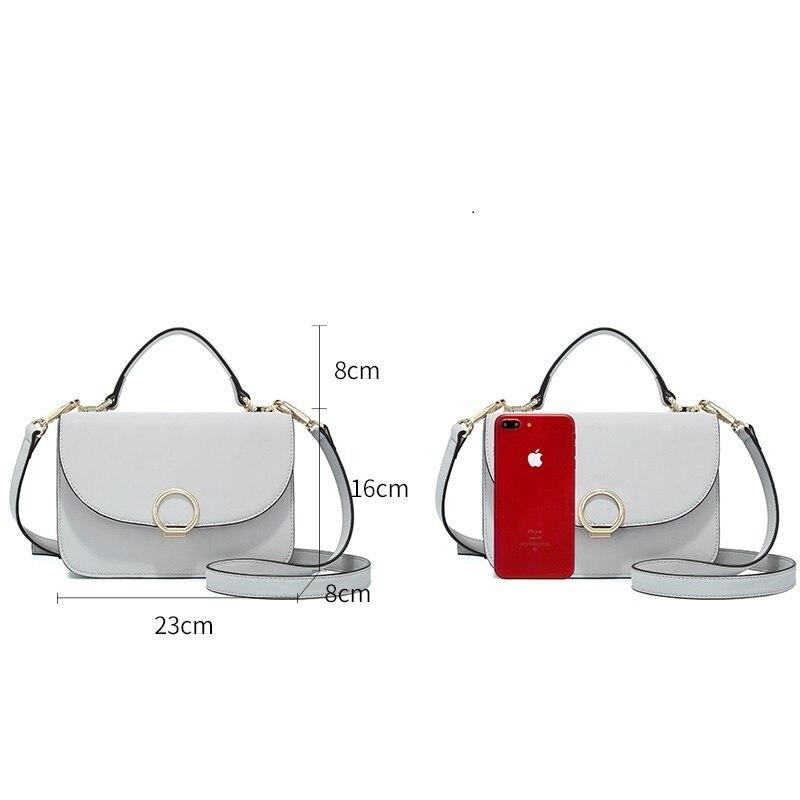 2018 New Korean Version Simple Handbag Bag Shoulder Messenger Ladies Hand Bags Handbags Women Famous Brands