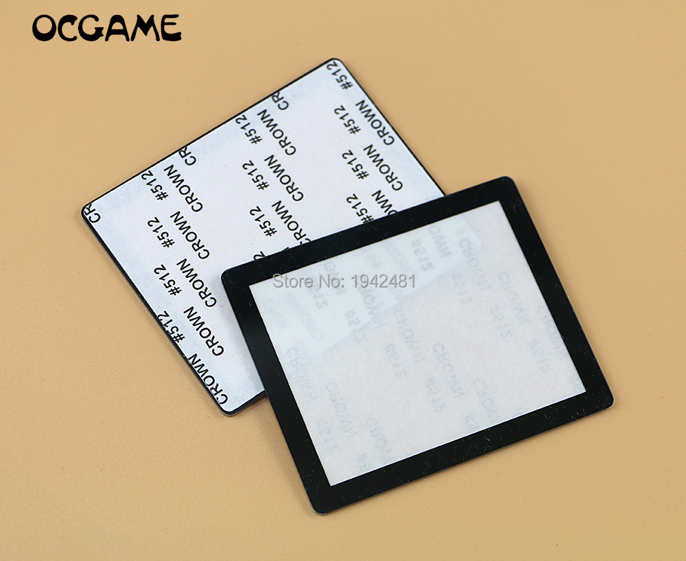 OCGAME 60pcs lot Screen Lens with Adhesive Tape for Nintendo DS NDS Lens Protector Replacement Part