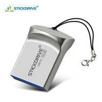 Super Mini USB 3,0 Pen Drive 128GB 64GB memoria usb 16GB 32GB usb flash drive metal portátil USB