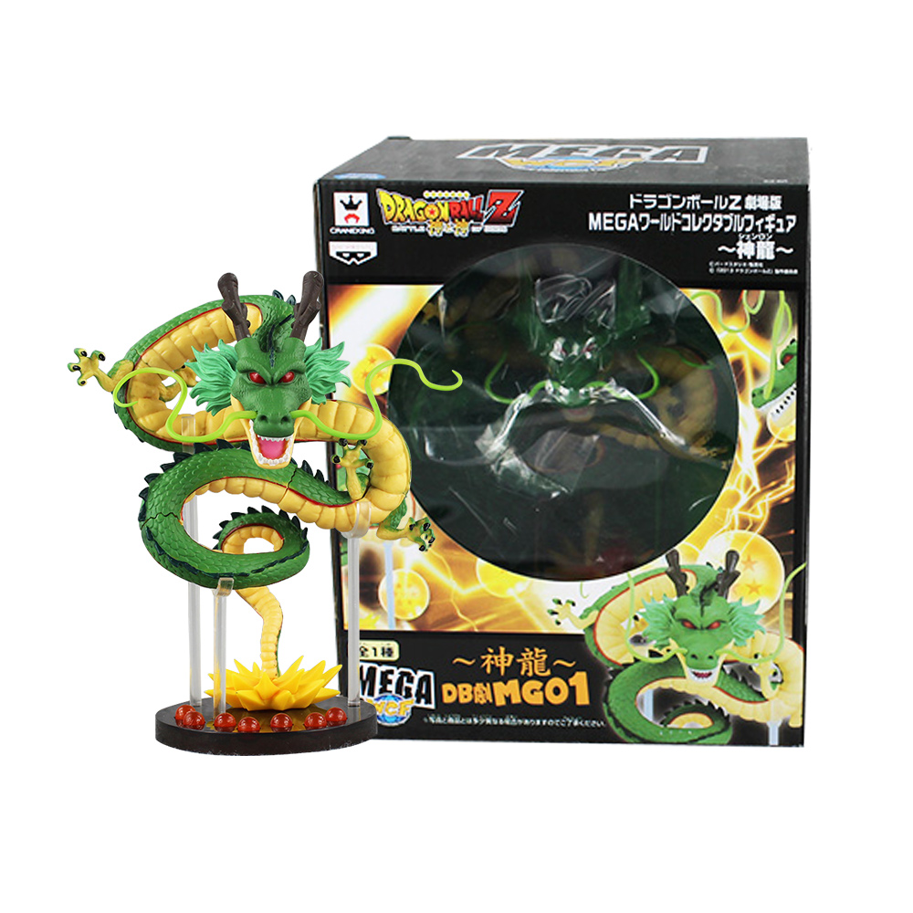 Anime 20cm Cartoon Dragon Ball Z ShenRon ShenLong PVC Action Figure Collectible Model Toy