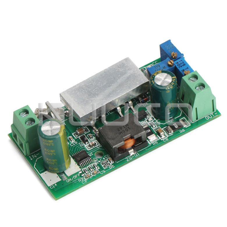 100W Power Adapter DC 10~50V to 1~36V 10A Buck Converter Adjustable Voltage Regulator/Power Converter/Driver Module/Charger