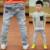 2016 crianças Primavera roupas de Outono 3-14 anos de idade fashiong crianças jeans meninos