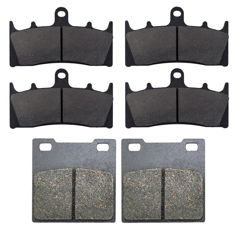 AHL Motorcycle Front and Rear Brake Pads For SUZUKI GSXR750 W/T/V/X TL1000 R GSXR1100 W GSF 1200 SK/K Bandit GSX1300R Hayabusa motorcycle front rear brake pads for kawasaki gpx 600 r zx600 1988 1996 gpx 750 r zx750 1987 1989 zr750 1991 1995 zx100 zx10 p04