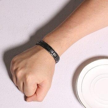 Bracelet Magnétique Titane Homme