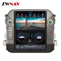 ZWNVA Tesla Style IPS Plus Screen Android 6.0 Car No DVD Player GPS Navigation For Kia Sportage R 2010 2011 2012 2013 2014 2015
