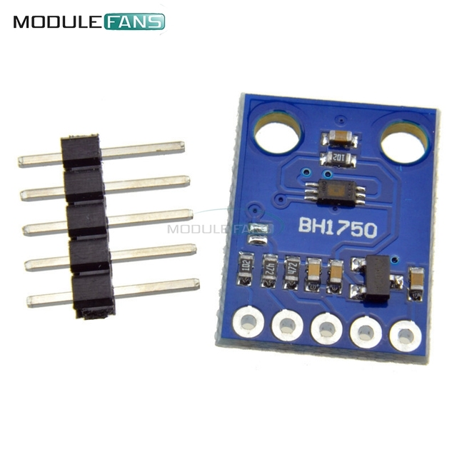 New BH1750FVI Digital Light intensity Sensor Module For Arduino AVR 3V-5V GY302 GY-302 16bitAD Converter Digital Output Module