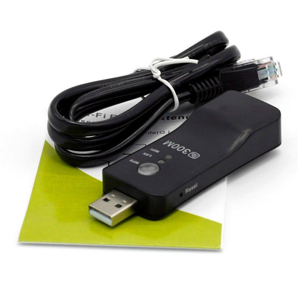 Universal Wifi Signal Extender Wireless TV 300MbpsRJ-45 Wi-fi Signal Enhancer WPS Repeater AP Mode for Samsung LG Sony TV