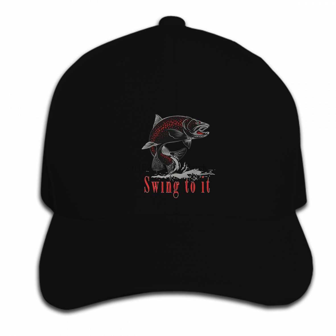 5dba3db2e2cc8 Print Custom Baseball Cap Hip Hop Fly fishing salmon steelhead trout brook  spey switch rod Alaska