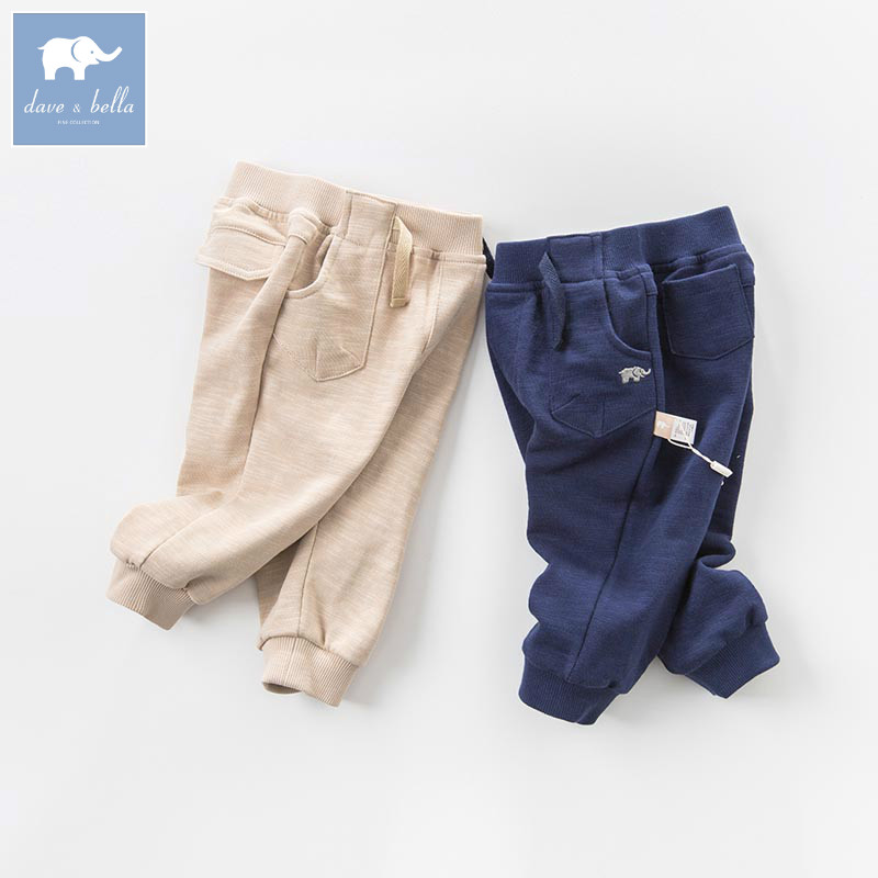 DB7324 dave bella spring infant baby boys full length fashion pants children toddler trousers dba7845 dave bella autumn baby boys fashion jeans children full length kids denim pants infant toddler trousers