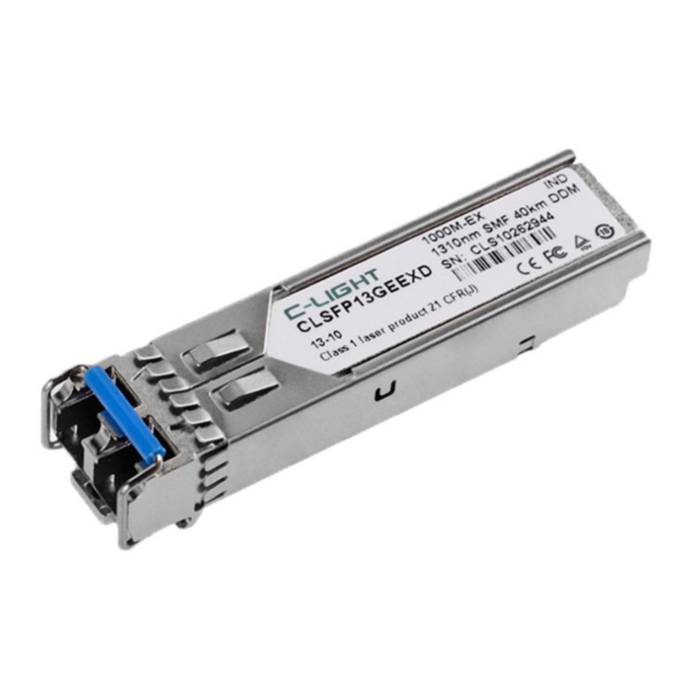 C-light glc-lh-smd 1.25Gbps SFP LC Connector Optic Module SFP Transceiver With DDM for Juniper  TP-Link