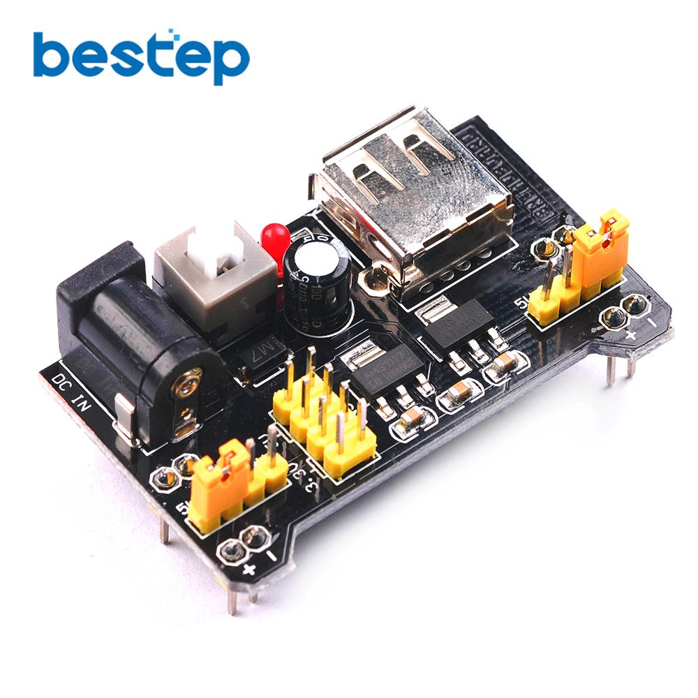 20PCS Breadboard Power Supply Module 3.3 5V MB102 for Ard uino Board