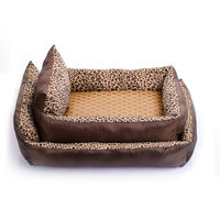 comfortable Small Dog cat Bed With Bone Pillow Sofa Dog Mat Pet Seat Cover Kennels Washable Cat Nest House Pet Supplies