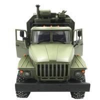 WPL Ural 1:16 Six Drive Military Truck Command Communication Vehicle Full Scale Simulation Climbing RC CAR