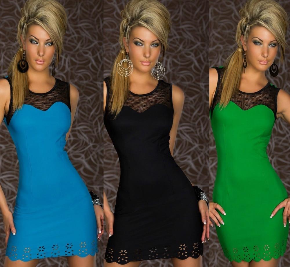 Free shipping  hot sales sleeveless free size sexy and short  nightclubs minidress
