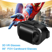 VR 3D Box Glasses Virtual Reality Goggles Cardboard VR Glasses 4.7-6.0″ Helmet Virtual Glasses for IOS Android Smartphone