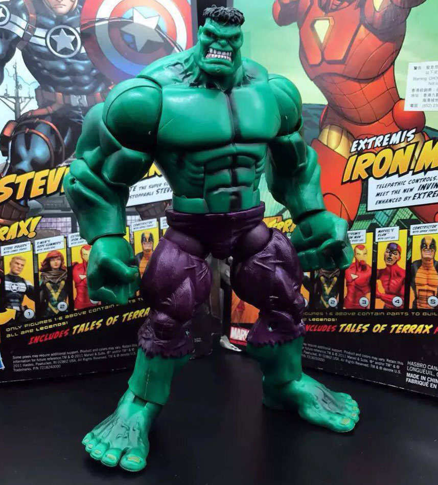 8/'/' Marvel Red Hulk Universe Avengers Legends Incredible Loose Toy Action Figure