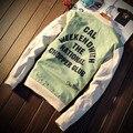 2016l Мужчины Куртка мода спортивная Пальто бренд Jacke выходные с вертолет Куртка мужская рабочая куртка т Тенденция Бренд 5xl