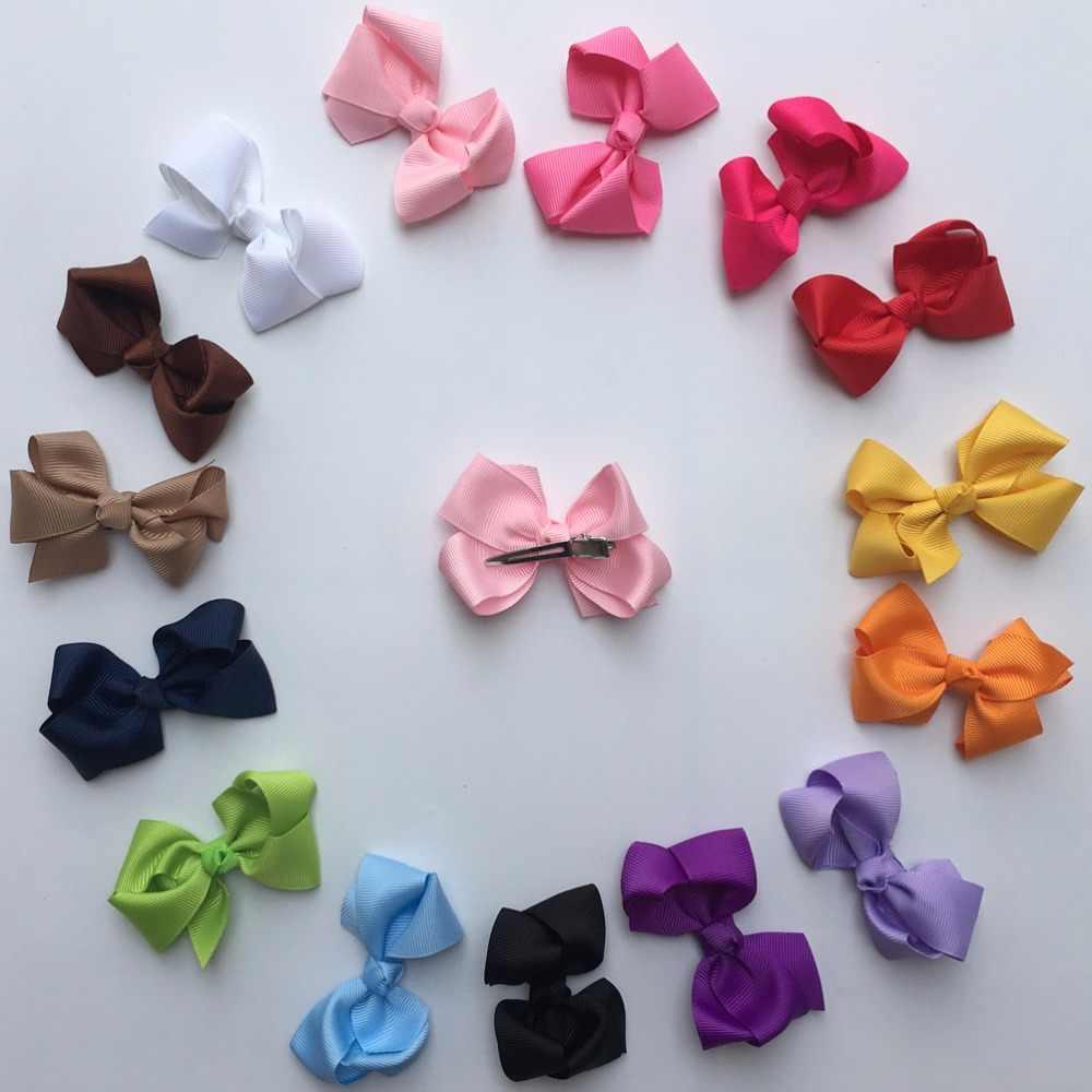 בנות ילדים בוטיק קליפים קשת שיער סרט משי עבה 3 אינץ 15 יח'\חבילה לילדים ילדה סרטי ראש בארה 'ב ילד A067-5