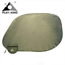 Outdoor Tent Dampproof Mat Waterproof Silver Picnic Mat Lightweight Portable Polyester Beach Mat Sun Shelter