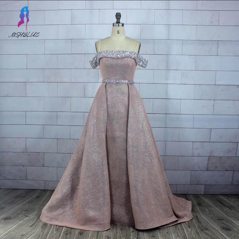 Purple Ball Gown   Evening     Dress   Long Off Shoulder Back Zipper Formal Gown   Evening     Dresses   MSHBLUE
