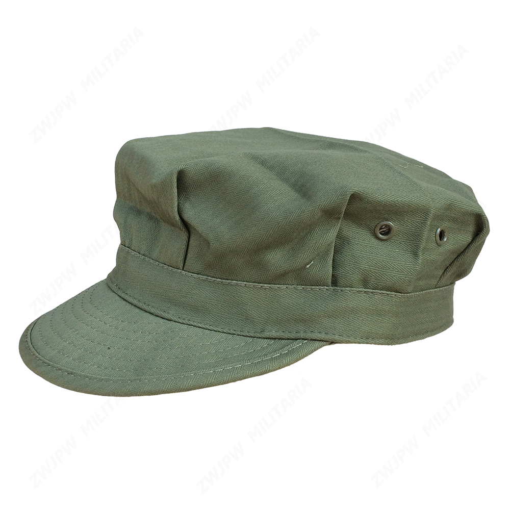 WW2 US ELITE ARMY GRØN HBT OCTAGONAL FEL CAP CAP MEN UDEN TAKTISK SPORT KLIMBING FISHING HAT US / 401102