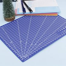 1 PCS A4 Grid Lines Cutting Mat Fabric Leather Craft Card Paper Board Handmade DIY Scale Plate Plastic Cutting Plate Accessories