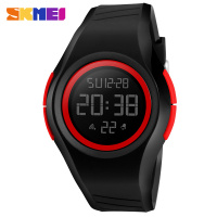 New Fashion SKMEI Brand Stop Watch Men 50M Waterproof LED Digital Sports Watches Military Simple Children